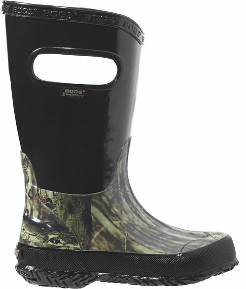 BOGS Kid's Lightweight Waterproof Mossy Oak Camo Boots