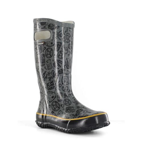 BOGS Kid's Lightweight Waterproof Pirate Boots