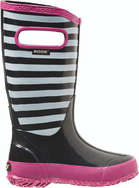 BOGS Kid's Lightweight Waterproof Striped Boots