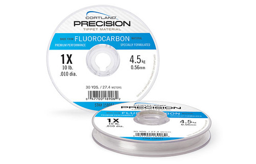 Cortland Precision Fluorcarbon Tippet Material 2X FL TIP #9 #659162