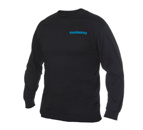 Shimano Logo Long Sleeve Crew Neck T-Shirts