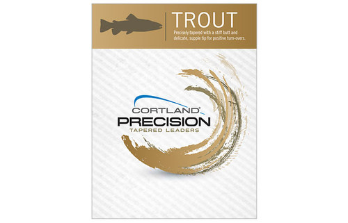 Cortland Precision Tapered Trout Leaders