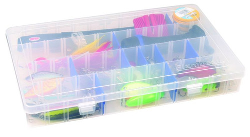 Flambeau Tuff 'Tainer 4-Partitions & 15 Zerust Divider Storage Containers
