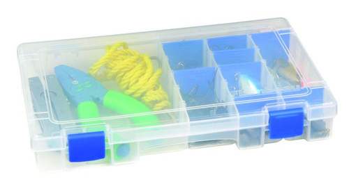Flambeau Tuff 'Tainer 4-Partitions & 9 Zerust Dividers Storage Container #4004