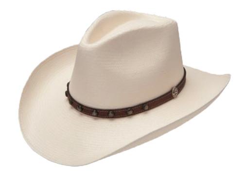 Stetson Cyprus 8X Straw Cowboy Hat