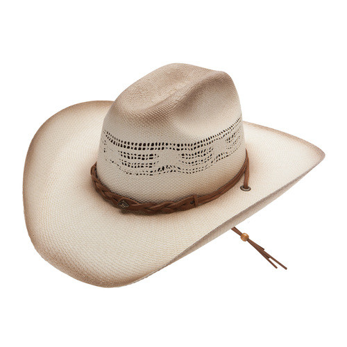 Stetson Dusty Pecos Dusted Shantung Straw Hats