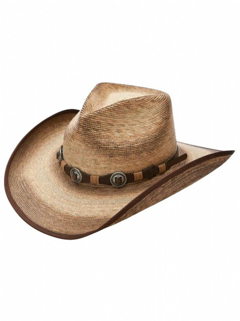 Stetson Kimball Stained Palm Straw Hats