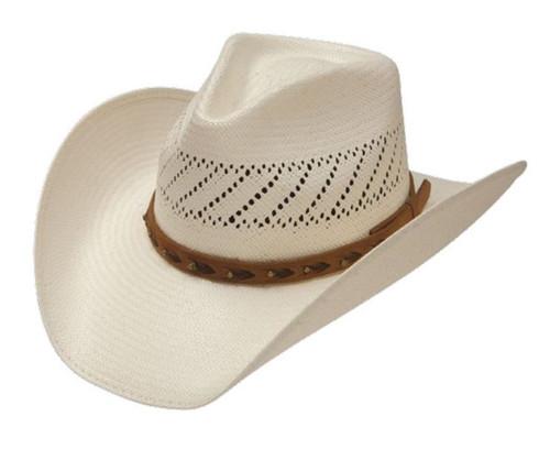 Stetson Tracker Vented Shantung Straw Hats