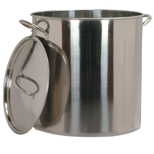 King Kooker 32 Quart Heavy Duty Stainless Steel Pot & Steamer Plates 32QTSS #32QTSS