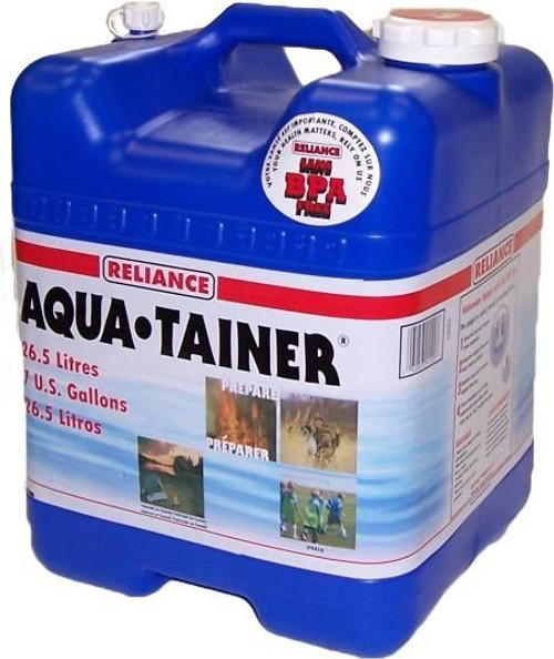 Reliance Aqua-Tainer 7 Gallon Water Container #9410-03