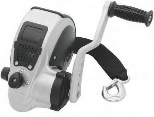FULTON 2-Speed F2 3200 Trailer Winch with Strap #FW32000101