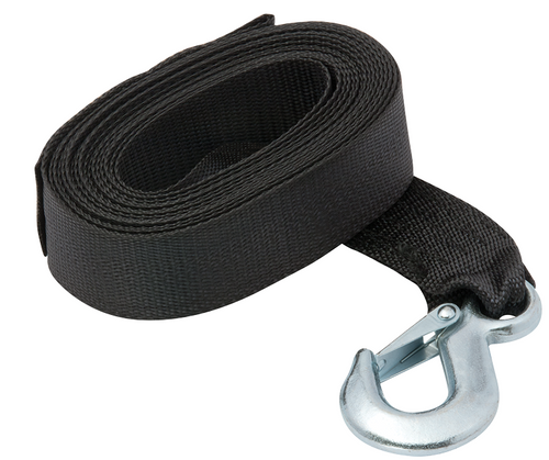 FULTON 20 Ft Winch Strap & Hook #501202