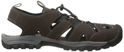 Northside Burke ll Men's Closed Toe Sandals BRN 8 #212465M-201-8