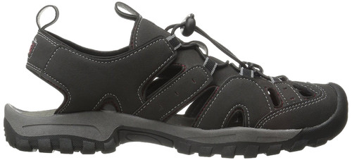 Northside Burke ll Men's Closed Toe Sandals 10 BLK #212465M-011-10