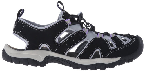 Northside Burke ll Women's Closed Toe Sandals W10 BLK #212465W-017-W1