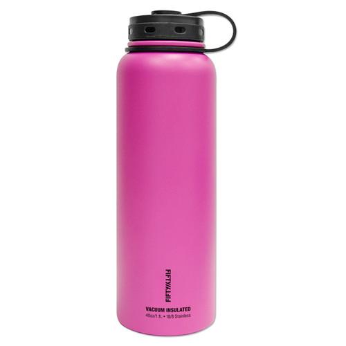 LifeLine 40oz Double-Wall Vacuum-Insulated Water Bottles