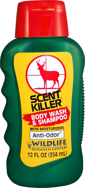 Wildlife Research Scent Killer Anti-Odor Body Wash & Shampoo 12 oz #540