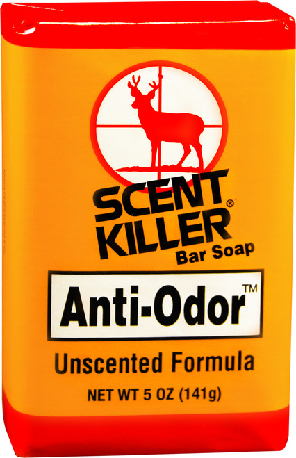Wildlife Research Scent Killer Anti-Odor Unscented Bar Soap #541