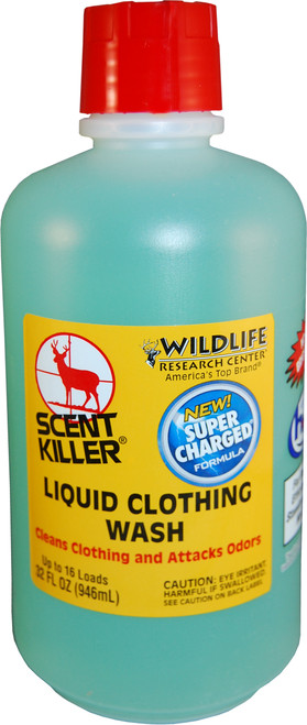 Wildlife Research Scent Killer Gold 32oz 2X Liquid Laundry Detergent #546-33