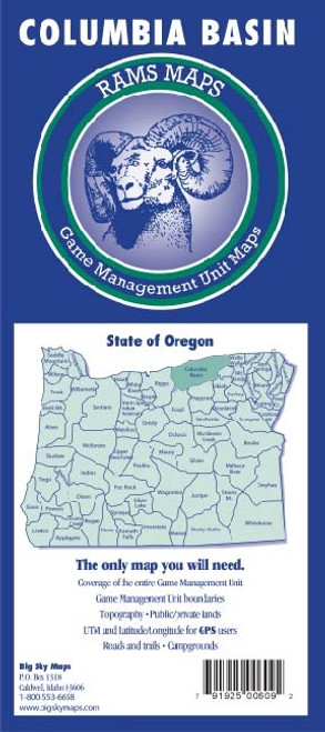 Rams Oregon Game Management Unit Maps COLUMBIA BASIN #COLUM-BASIN