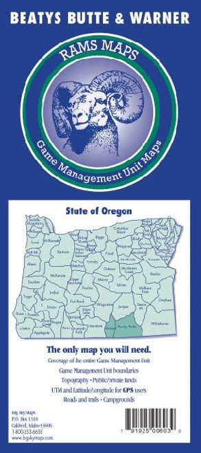 Rams Oregon Game Management Unit Maps