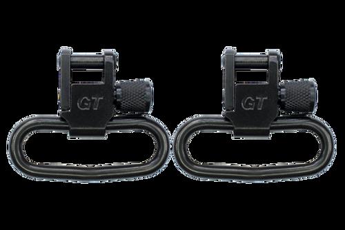 GrovTec GT Locking Swivels 1 1/4 BLK #GTSW-02