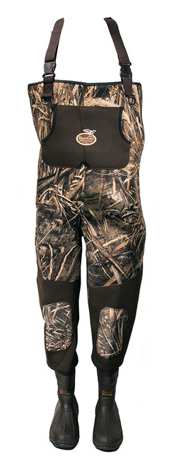 Caddis MAX-5 Neoprene Bootfoot Camo Waders