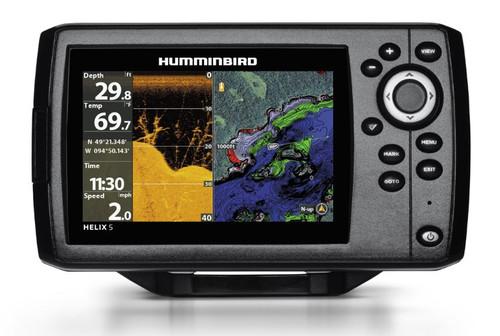 Humminbird Helix 5 Chirp DI G2 Fishfinder & GPS Chartplotter #410220-1