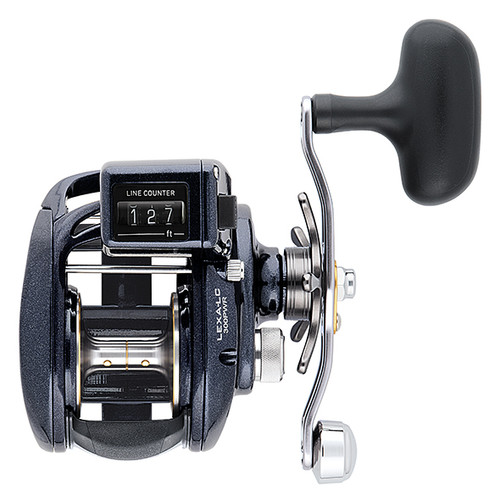 Daiwa LEXA 300 High Capacity High Power Line Counter Reels