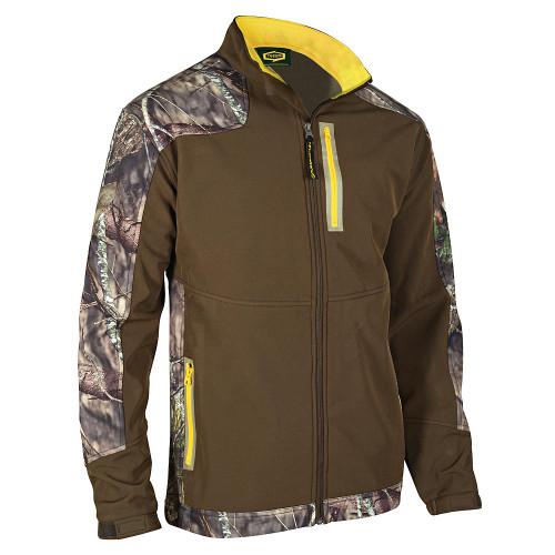 Yukon Gear Windproof Softshell Full-Zip Jacket