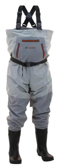 Frogg Toggs HellBender BootFoot Cleated Chest Waders 11 #2711226C-11