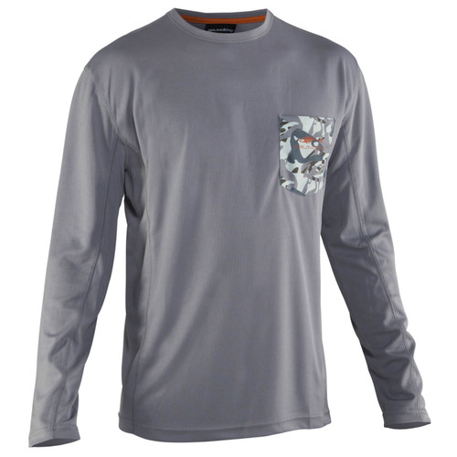 Grundens Fish Head Performance Long Sleeve Shirts