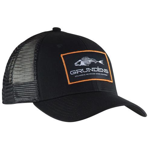 Grundens Logo Trucker Hats BLK HGTR-BLK #HGTR-BLK