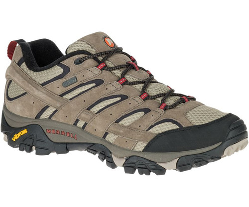 Merrell Men's MOAB 2 Waterproof Hiking Shoes BRN 8.5 #J08871-8.5