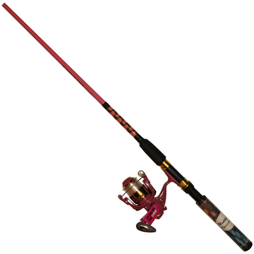 "Master Fishing Tackle 6'6"" Lighted Spinning Combo"