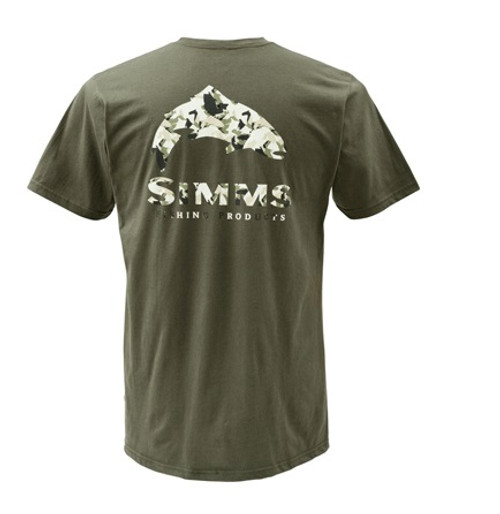 Simms Trout Camo Short Sleeve T-Shirt