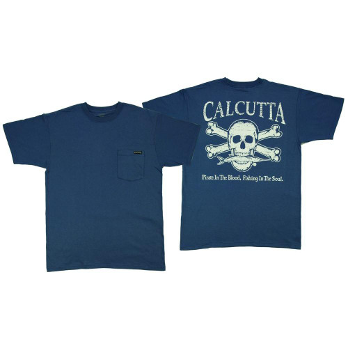 Calcutta Original Logo Short Sleeve Pocket T-Shirt