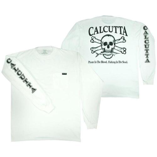 Calcutta Original Logo Long Sleeve Pocket T-Shirt
