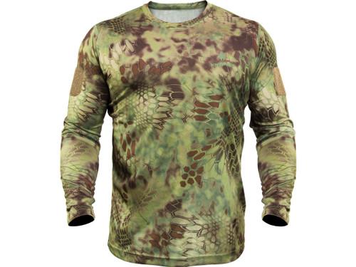 Kryptek Stalker Long Sleeve Mandrake T-Shirt