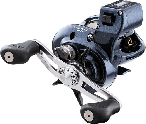 Daiwa LEXA 100 High Capacity Line Counter Reel