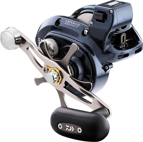 Daiwa LEXA 400 High Capacity High Power Line Counter Reels LEXALC400PWRLP #LEXALC400PWRLP