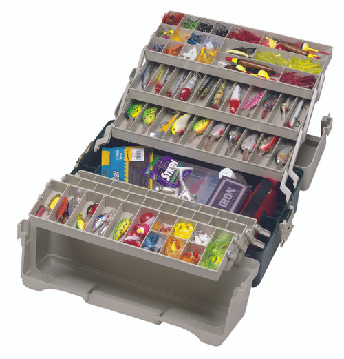 Plano Hip Roof 6-Tray Tackle Boxes
