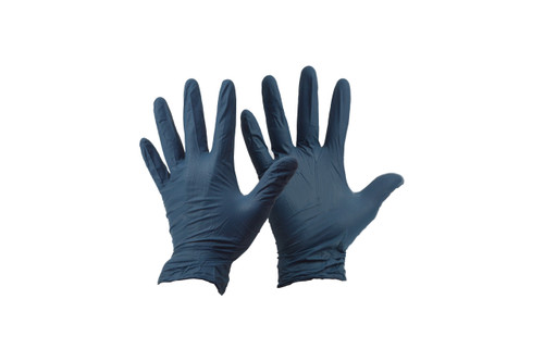 BnR Nitrile Gloves Blue Medium #FGMD