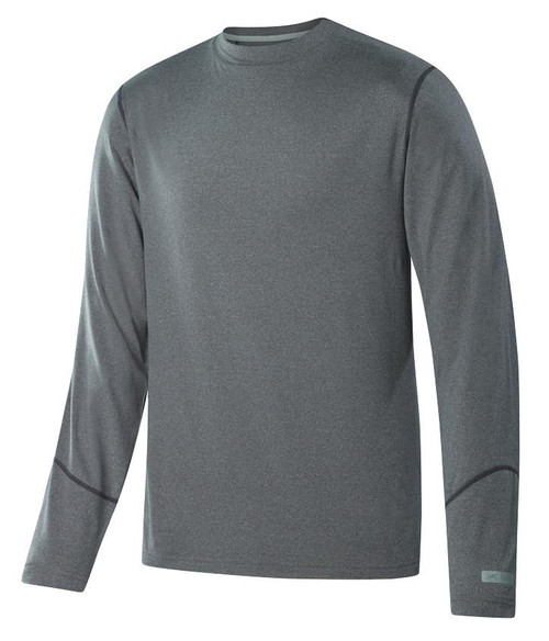 Terramar Thermolator 2.0 Men's Long Sleeve Crew GRY L #W7543-098-L