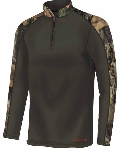 Terramar 3.0 Tracker Men's 1/4 Detail Camo Fleece Pullover