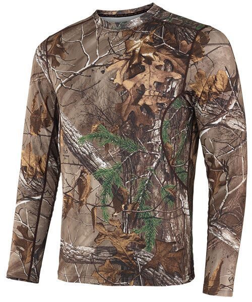 Terramar 2.0 Thermolator II Men's Long Sleeve Camo Stalker Crew
