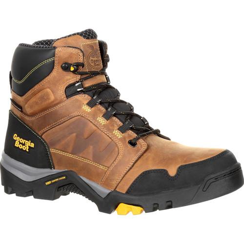 Georgia Boot Men's Amplitude Waterproof Hiker Work Boot 9.5 #GB00128-9.5