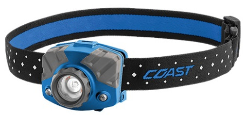 COAST FL75 Dual Color 435 Lumen Focusing LED Headlamps
