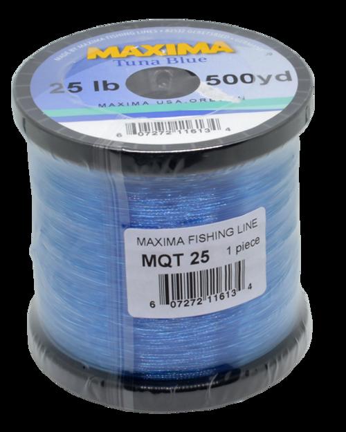 Maxima Blue Guide Spool 50 lbs x 300 yds BLUE #MQT50