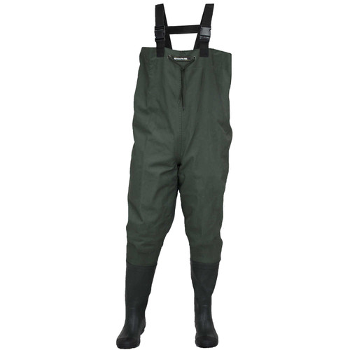Compass 360 Oxbow 2-Ply Rubber Bootfoot Chest Wader